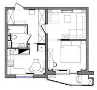 План квартиры в объявлении о продаже