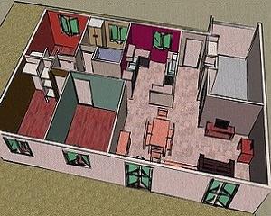 В квартире сделана перепланировка